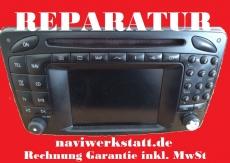 Mercedes C W203 SL R230 W463 CLK W209 W208 Command 2.0 Lesefehler Reparatur