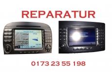 Mercedes Benz Display Reparatur Command 2.5  APS NTG1 NTG2 Hell Schwarz Defekt