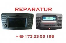 Mercedes Command APS NTG2.5 Navigation - Reparatur DVD 6-fach Laufwerk